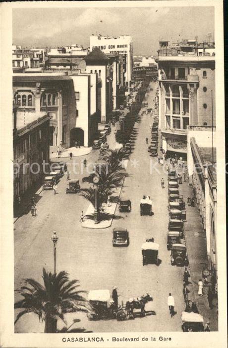 Casablanca Boulevard de la Gare Kat. Casablanca