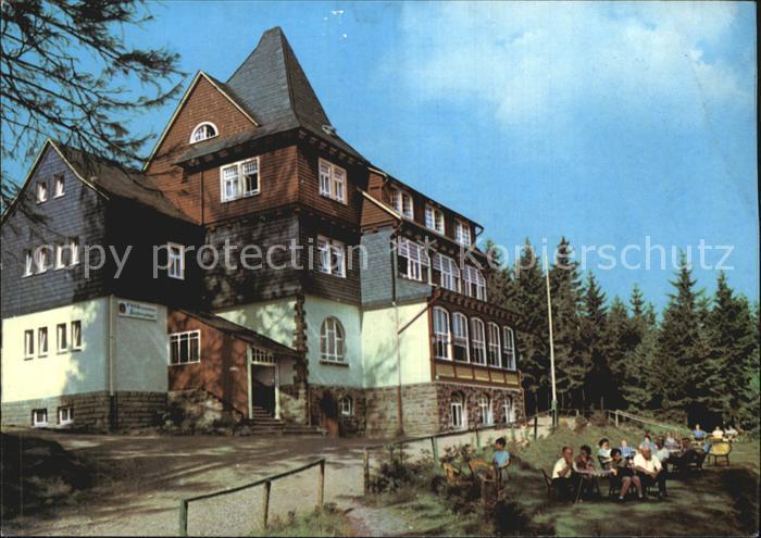 Finsterbergen Erholungsheim Spiessberghaus Kat. Finsterbergen Thueringer Wald