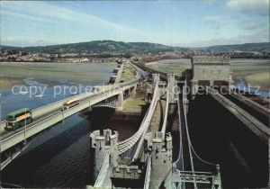 Conway Wales The Four Bridges