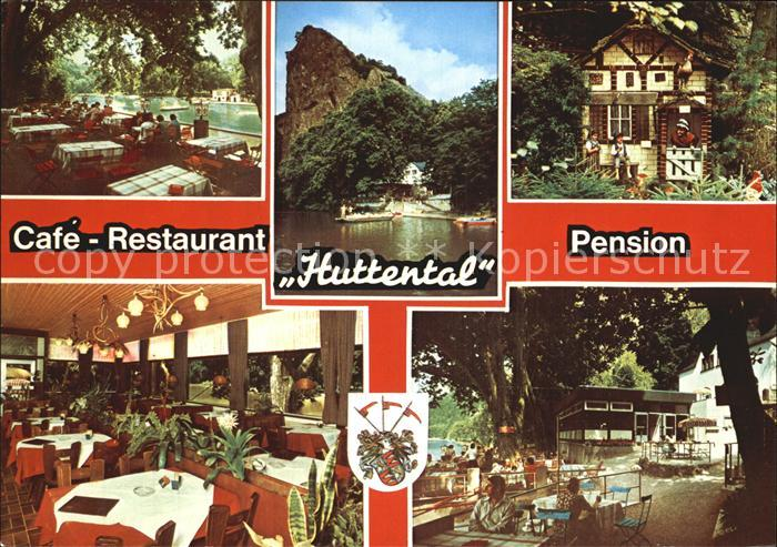 Bad Muenster Stein Ebernburg Cafe Restaurant Pension Huttental Kat. Bad Muenster am Stein Ebernburg