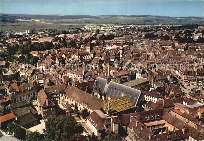Beaune Cote d Or Burgund Vue aerienne Kat. Beaune