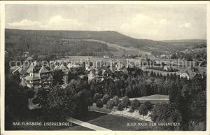 Bad Flinsberg Swieradow Zdroj Panorama Hasenstein Kat.