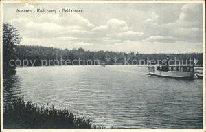 Masuren Niedersee Ostpreussen Rudczanny Beldahnsee Kat.