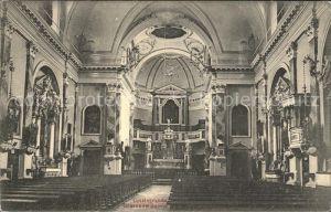 Lussingrande Veli Losinj Kroatien Interno del Duomo Kat. Kroatien