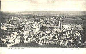 Corfe Dorset Corfe Castle Village Kat. Purbeck