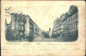 Baden Baden Leopoldsplatz Kat. Baden Baden