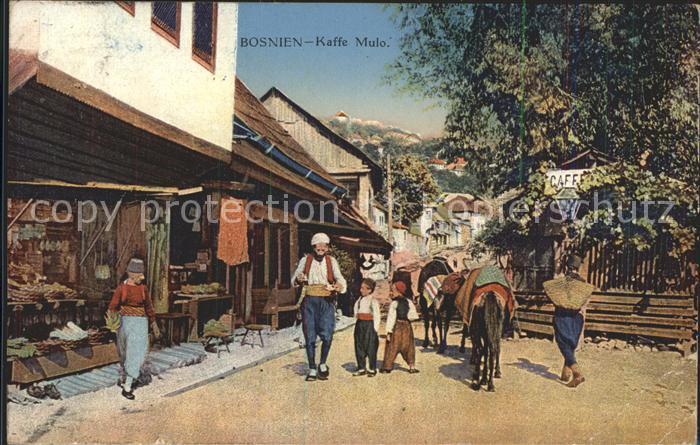 Bosnien Herzegowina Kaffe Mulo / Bosnien Herzegowina /
