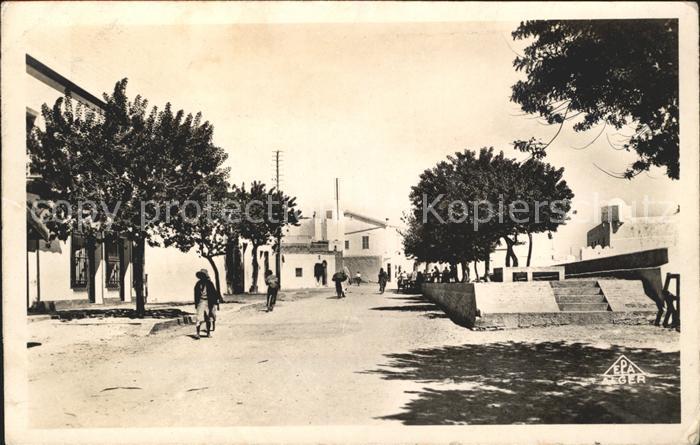 Zarzis Place du Centre de la Ville Kat. Tunesien