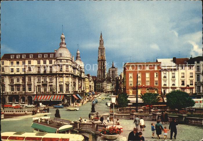 Antwerpen Anvers Canal au Sucre Suikerrui Kat.
