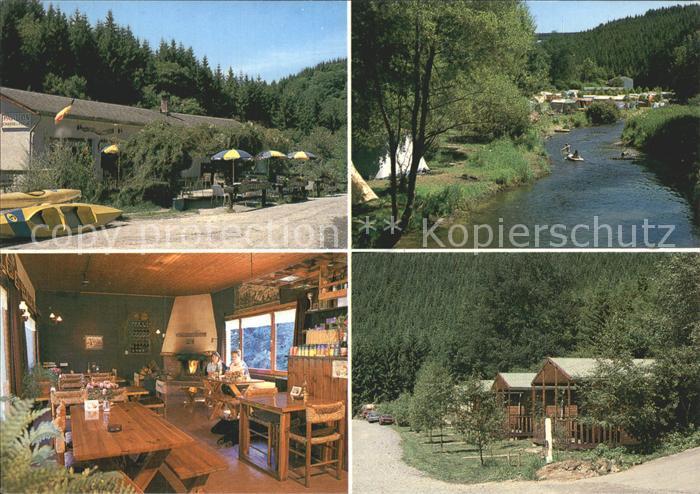 Houffalize Liege Camping Chasse et Peche Kat.
