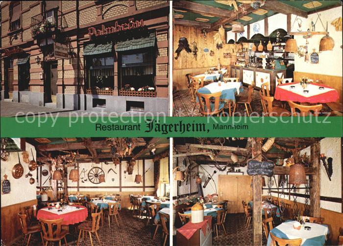 Mannheim Restaurant Jaegerheim Kat. Mannheim