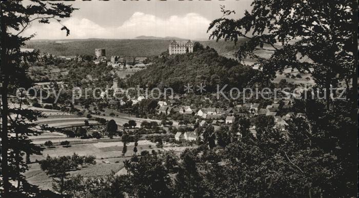 Lichtenberg Odenwald  Kat. Fischbachtal