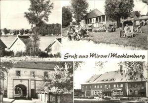 Mirow  Kat. Mirow Mecklenburg