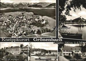 Groenenbach Bad Kneippkurheim Kurheim Bad Clevers  Kat. Bad Groenenbach