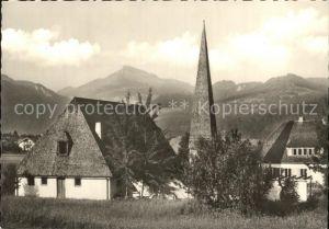 Oberaudorf Ev luth Auferstehungskirche Kat. Oberaudorf