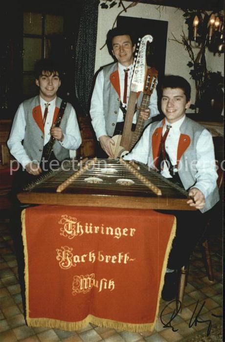 Friedrichroda Thueringer Hackbrettmusikanten Kat. Friedrichroda