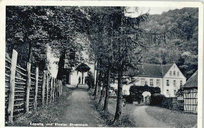 Ehrenstein Wied Kapelle Kloster Ehrenstein / Neustadt (Wied) /Neuwied LKR