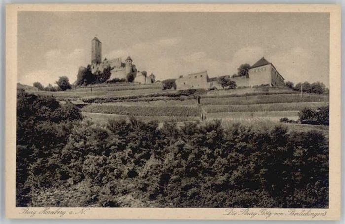 Neckarzimmern Burg Hornberg Burg Goetz * / Neckarzimmern /Neckar-Odenwald-Kreis LKR