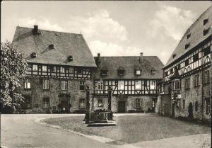 Schiffenberg Giessen Ehemaliges Kloster Gasthaus Kat. Giessen