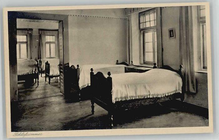 Oberroning Oberroning Laaber Salesianerinnen Institut Schlafzimmer ungelaufen ca. 1920 / Rottenburg a.d.Laaber /Landshut LKR
