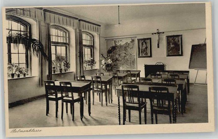 Oberroning Oberroning Laaber Salesianerinnen Institut Palmenklasse ungelaufen ca. 1920 / Rottenburg a.d.Laaber /Landshut LKR