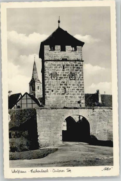 Wolframs-Eschenbach  / Wolframs-Eschenbach /Ansbach LKR