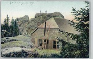 Osserschutzhaus Ossaschutzhaus Bayrischer Wald o 1909 /  /