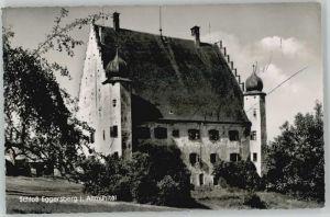 Eggersberg Oberpfalz Schloss Eggersberg ungelaufen ca. 1955 / Riedenburg /Kelheim LKR