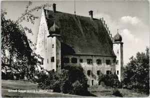 Eggersberg Oberpfalz Schloss Eggersberg x 1962 / Riedenburg /Kelheim LKR
