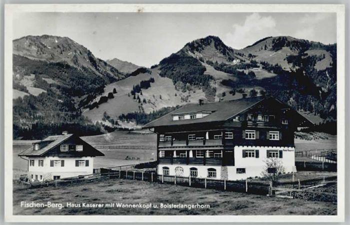 Berg Fischen Allgaeu Haus Kaserer * / Fischen Allgaeu /Oberallgaeu LKR
