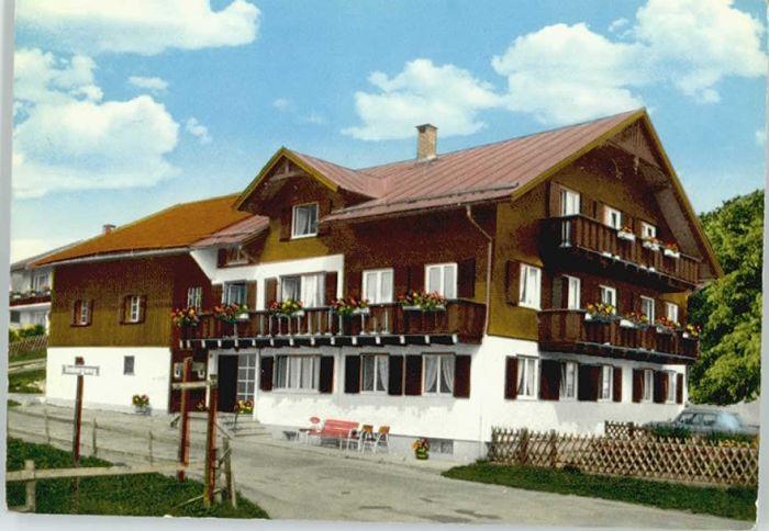 Berg Fischen Allgaeu Haus Mitterer x / Fischen Allgaeu /Oberallgaeu LKR