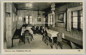 Silberhuette Tirschenreuth Hermann-Esser Schutzhaus x 1939 / Baernau /Tirschenreuth LKR