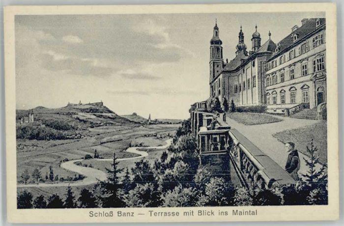 bad staffelstein v 1903 schlo 223 banz mit wappen und pr 228 gedruck 48510 nr 403086400 oldthing