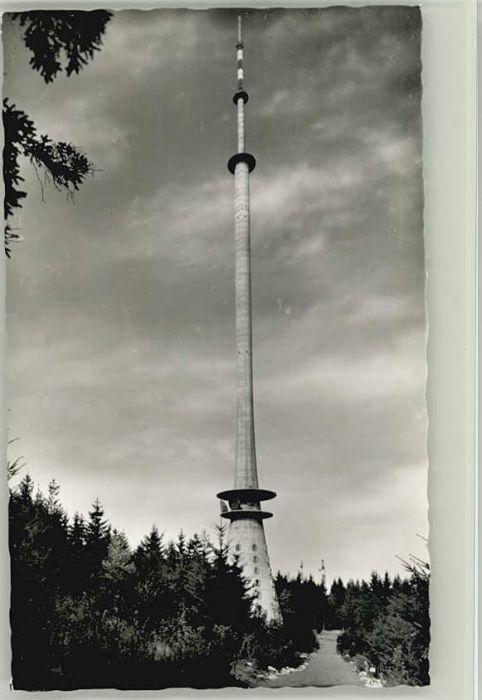 Dannenfels Fernsehturm Donnersberg * / Dannenfels /Donnersbergkreis LKR