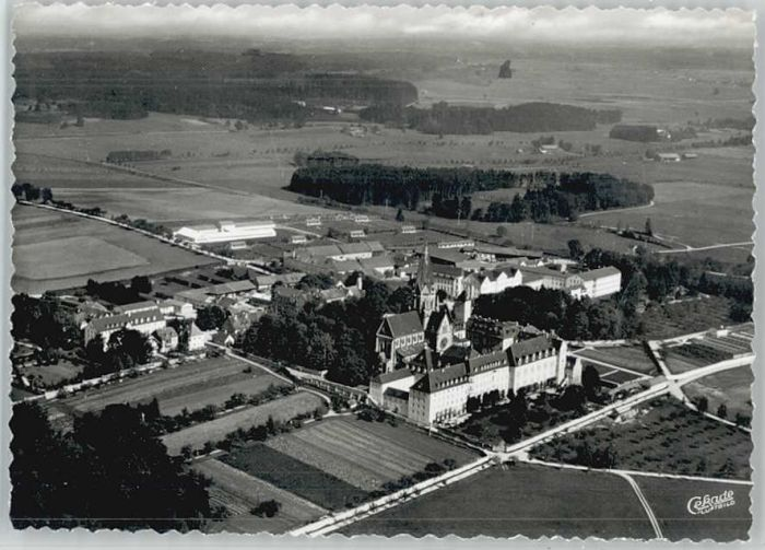 St Ottilien Eresing St Ottilien Fliegeraufnahme * / Eresing /Landsberg Lech LKR