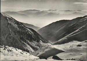 Liptovske Hole Ziarska dolina Bergpanorama