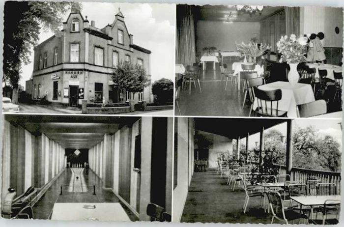 Orsoy Rhein Orsoy Niederrhein Hotel Haus Germania * / Rheinberg /Wesel LKR