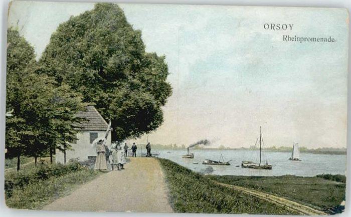 Orsoy Rhein Orsoy Niederrhein  x / Rheinberg /Wesel LKR