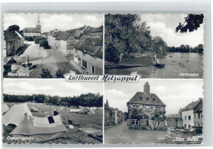 Holzappel Marktplatz Herthasee Zum Baeren * / Holzappel /Rhein-Lahn-Kreis LKR