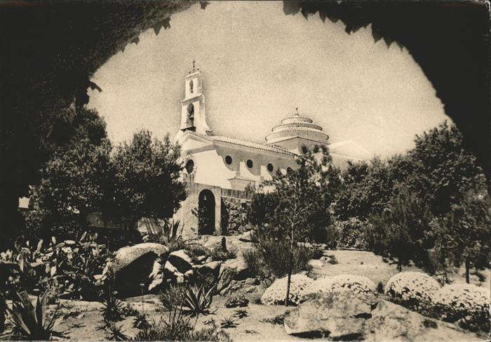 S Agaro Iglesia Kirche Kat. Costa Brava Spanien
