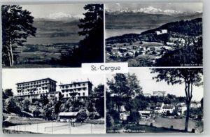 St Cergue St Cergue  x / St Cergue /Bz. Nyon