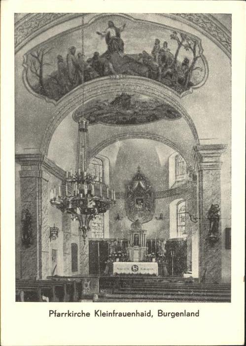 Burgenland Oesterreich Pfarrkirche Kleinfaurenhaid Burgenland