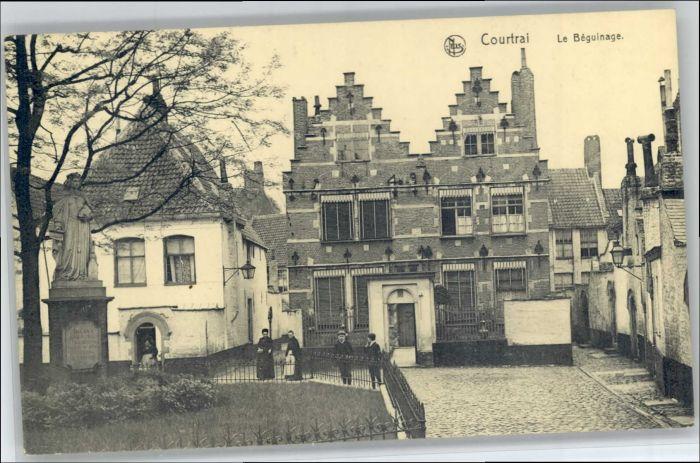 Courtrai Flandre Courtrai Beguinage * / Kortrijk /