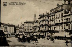 Antwerpen Anvers Antwerpen Anvers Meirplaats Place Meir * /  /