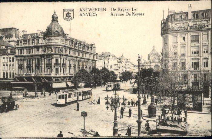 Antwerpen Anvers Antwerpen Anvers Keyser Lei Avenue Keyser * /  /