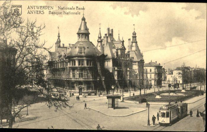 Antwerpen Anvers Antwerpen Anvers Bank * /  /