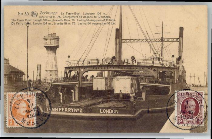 Zeebrugge Zeebrugge Ferry Boat  x /  /