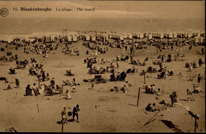 Blankenberghe Blankenberghe Plage Strand * /  /