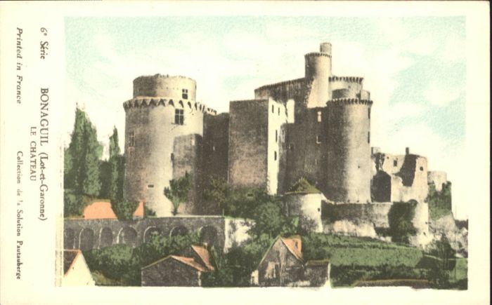 Saint-Front-sur-Lemance Chateau de Bonaguil / Saint-Front-sur-Lemance /Arrond. de Villeneuve-sur-Lot
