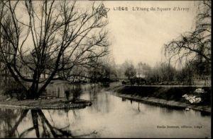 Liege Luettich Liege Etang Square d'Avroy x / Luettich /Provinde Liege Luettich